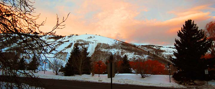Park City in the winter